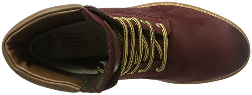 camel active Women's Canberra GTX 70 Boots, Blue, 4.5 UK Red (Bordo/Bison)