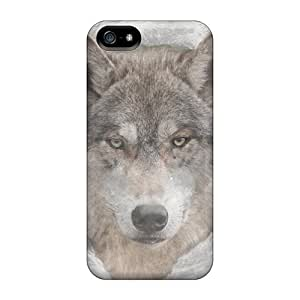 Iphone5 iphone 5s iphone 5 Protector mobile phone cases trendy Shatterproof wolfmoon