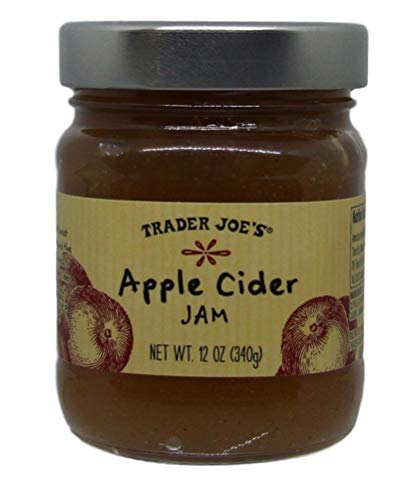 Trader Joe's - Apple Cider Jam - 12 oz Jar - Pack of -