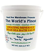 Dead Sea Warehouse Amazing Minerals Dead Sea Bath Salts 2.27 kg, 2.27 kg