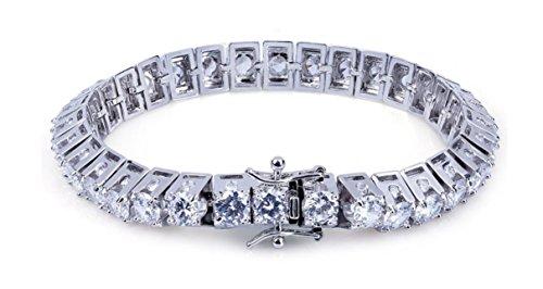Mens Bracelets B?rbaro Men Bracelets Hiphop Bracelet for Men Iced Out