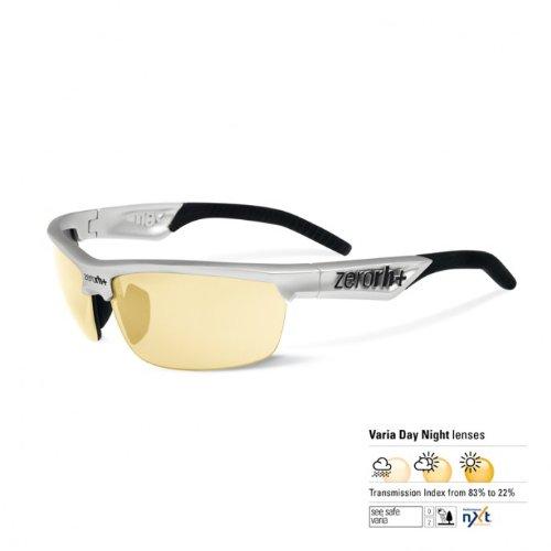 RH + Radius varie See Safe, lunettes de soleil mixte adulte Taille unique Matt Alluminium/Black Varia