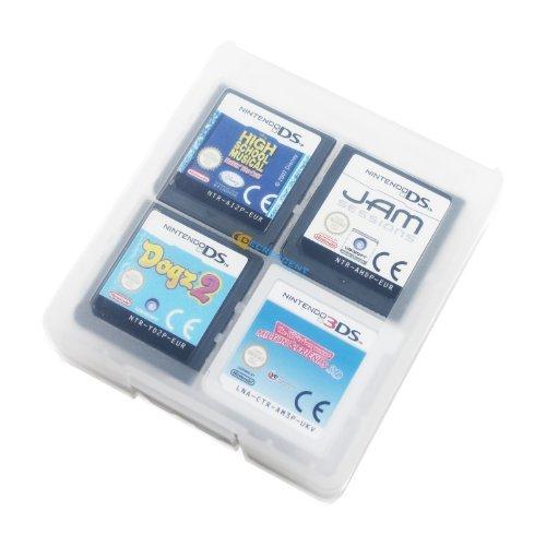 Decrescent 16 Spiele-Kartentasche für Nintendo 3DS, 2DS, DSi, DS Lite & Original DS - Transparent