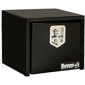 Amazon.com: Buyers Products Black Steel Underbody Truck Box w/ T-Handle Latch (14x12x18 Inch