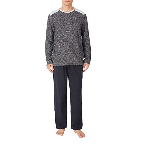Tommy Bahama Men's Pajama Set, Crew Neck Top and Drawstring Pant (Medium, ()