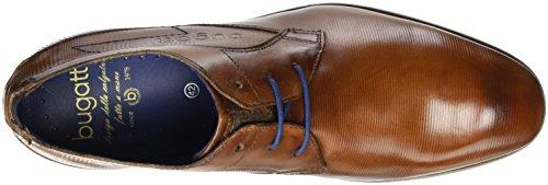 Bugatti 312105071100, Zapatos de Cordones Derby para Hombre Marrón (Cognac 6300)