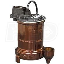 Liberty Pumps 280 Manual 1/2 HP Mid Range Head Submersible Sump/Effluent Pump