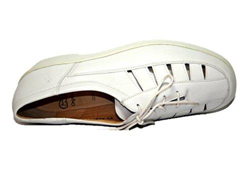 Ganter , Chaussures de ville à lacets pour femme Blanc Offwhite 37