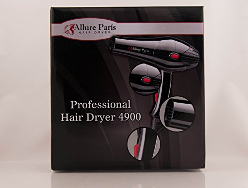 Professional Salon Hair Dryer By Allure Paris Turbo 4900