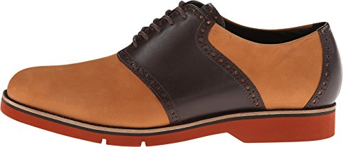 Cole Haan Mens Stora Jones Xl Sadel Oxfords Brittiskt Tan / Java