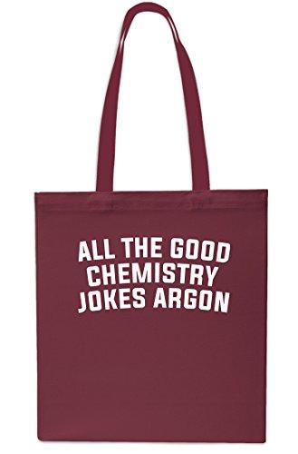 Gym 10 Grey Small Maroon Argon litrest All Beach 42cm Chemistry The Shopping Good Tote Bag Jokes x38cm qZU0F7w