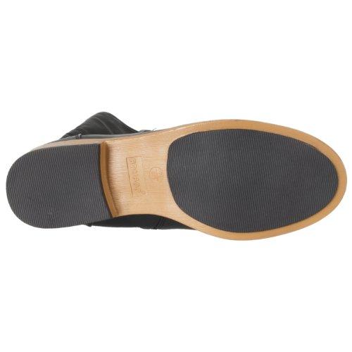 Bamboewomens Parksville Knielhoge Ritssluiting-detail Mode Laarzen Zwart