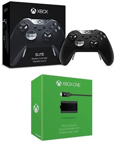 Microsoft - Mando Elite Wireless (Xbox One) + Kit De Carga Y Juega ...