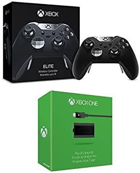 Microsoft - Mando Elite Wireless (Xbox One) + Kit De Carga Y Juega - Reedición: Amazon.es: Videojuegos