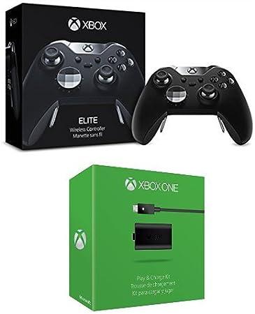 Microsoft - Mando Elite Wireless (Xbox One) + Kit De Carga Y Juega ...