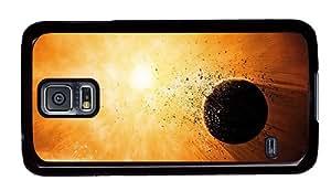 Sale Samsung uncommon case Planet explosion destruction PC Black for Samsung S5,Samsung Galaxy S5,Samsung i9600