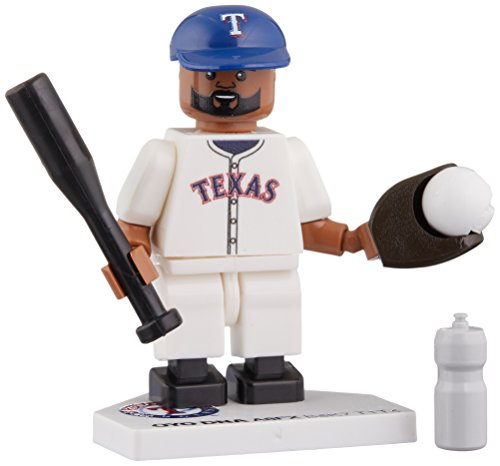 (MLB Texas Rangers Prince Fielder Generation 4 Mini Figure, Small, Black)