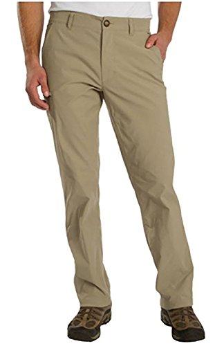 UNIONBAY UB TECH Mens Rainier Travel Chino Active Cargo Pants UPF 50 Water Repellent, 38W x 34L - Khaki (Men Cargo Unionbay For Pants)