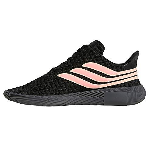Para Negras Black Hombre 3 S18 Zapatillas Elastico Adidas Core Sneaker Fluor Bandas Coral Sobakov Punto chalk t7xIEwSq