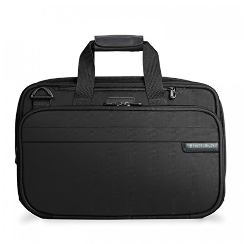 Briggs & Riley Baseline Expandable Cabin Bag, Black, Medium by Briggs & Riley