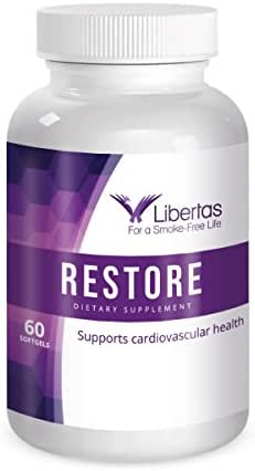 Libertas | Restore Multivitamins Immune Booster for Smokers | Lungs & Heart Cleaner | 100% Nicotine Free | Restore Nutrients | Reduce Brain Fog | Boost Energy | Dietary Supplement for Men & Women
