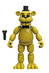 Funko Five Nights at Freddy\'s Articulated Golden Freddy Action Figure, 5\