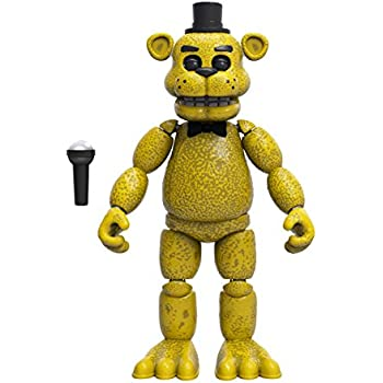 Funko Five Nights at Freddy's Articulated Golden Freddy Action Figure, 5""