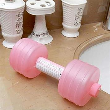 Murphytonerty - Mancuernas de plástico para botella de agua para gimnasio, entrenamiento deportivo y culturismo