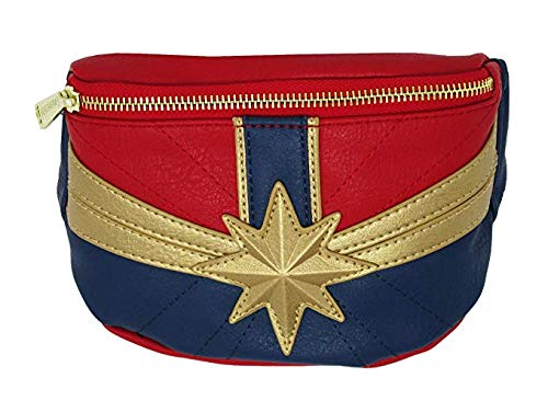 (Loungefly Captain Marvel Faux Leather Fanny Pack Standard)