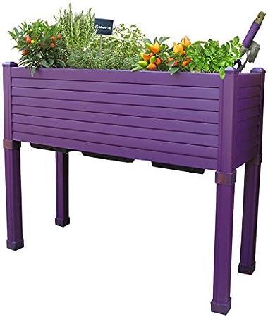 Huerto urbano GREENLAND especial balcón. 90x32x75 cm. Color ...