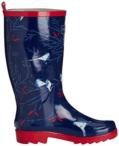 Regatta Lady Fairweather - Botas de lluvia para mujer Azul (Navy/Sorbetp 7Km)