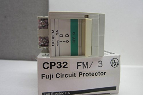 NEW FUJI ELECTRIC CP32 FM/3 CIRCUIT PROTECTOR CP32FM3 by Generic