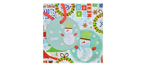 """2 Giant Christmas Gift Bags for Large Gifts 2-Pack Each Bag 36x44"""" Assorted Styles"""