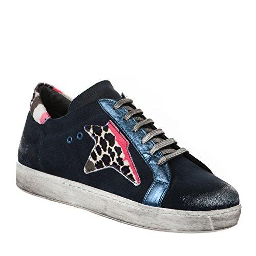 Miglio Marine Mode Femme Baskets Bleu r6TZrz