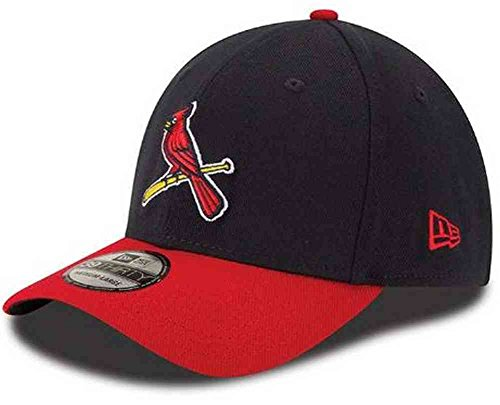 New Era MLB St. Louis Cardinals Team Classic Alternative 2 39Thirty Stretch Fit Cap, Blue, -