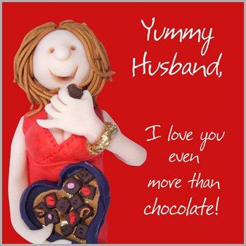 Fax potato greeting card yuy husband i love you even more than fax potato greeting card yuy husband i love you even more than chocolate m4hsunfo Images