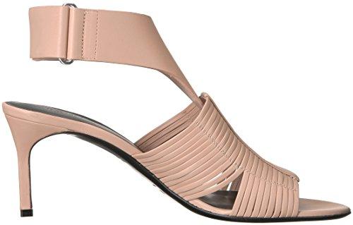 Sandal Sand Woven JUSTINE2 Heel Via Spiga Women's Leather Heeled fqSOz7w