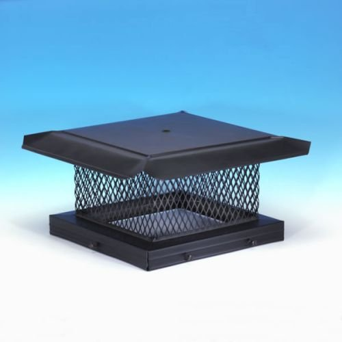 Chimney 14719 HomeSaver Black Chimney Cap - .625 Inch Mesh - 17 Inches x 21 Inches by Copperfield