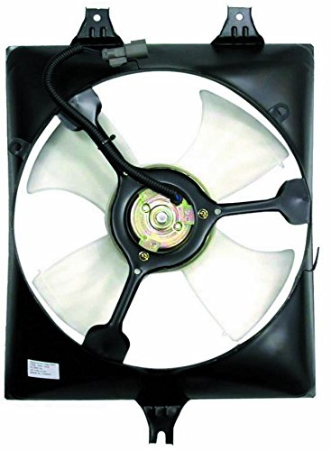 A-C Condenser Fan Assembly - Cooling Direct For/Fit HO3115125 03-07 Honda Accord Sedan/Coupe V6