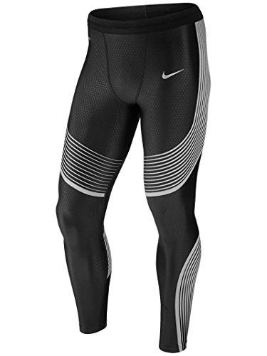 Price comparison product image Nike Men's Nike Power Flash Speed Tights Black/Reflective Silver Size Small