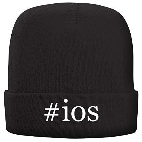 BH Cool Designs #iOS - Adult Hashtag Comfortable Fleece Lined Beanie, Black