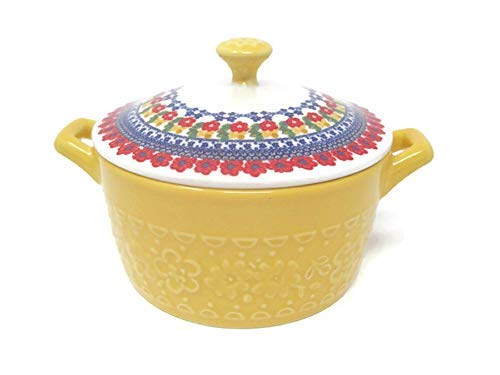 Pioneer Woman Mini Casserole with Lid (14.4 of, Yellow) by The Pioneer Woman