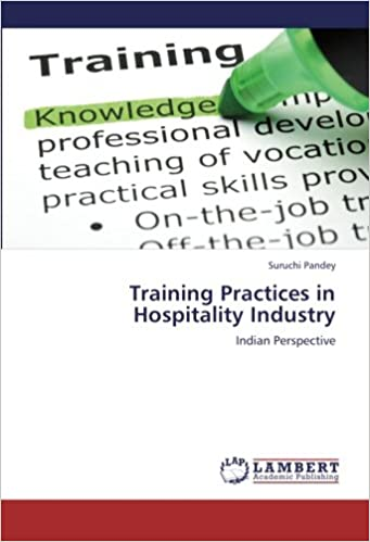 Book Training Practices in Hospitality Industry: Indian Perspective