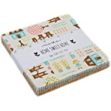 MODA Home Sweet Home Charm Pack By Stacy Iset Hsu; 42-5 inch Precut Fabric Quilt Squares