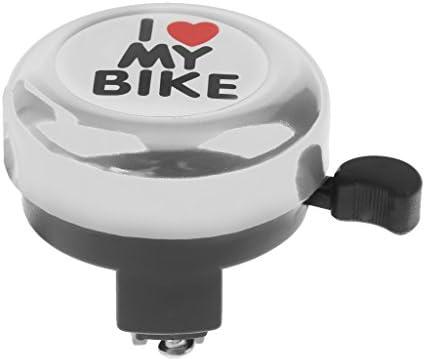 Fenteer 7色選べ 調節可能 子供/大人用 自転車ベル サイクリング リング ホーン サウンド 交換用 アクセサリ