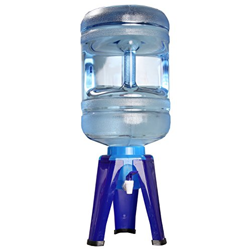 Home-x 5 Gallon Water Bottle Dispenser Stand, Water Cooler Stand by Home-X