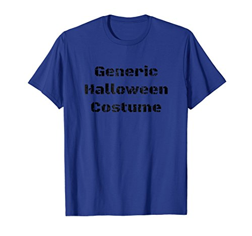 Witty Generic Halloween Costume Tshirt for Men & Women ()