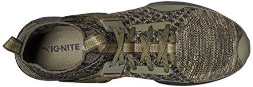 Scarpe Ignite Evoknit Cross-Trainer da uomo, Olive bruciate / Forest Night / Puma Black, 13 M US