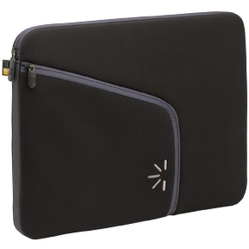 Case Logic PLS-15 15.4-16 Inch Neoprene Laptop Sleeve (Black) (Headphones Logic Case Portable)