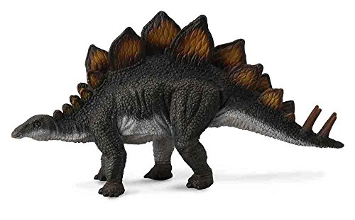 Stegosaurus Dinosaur Miniature - CollectA Stegosaurus Toy Dinosaur Figure - Authentic Hand Painted & Paleontologist Approved Model